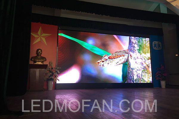 Mẫu sản phẩm màn hình LED P3.91 trong nhà mà LEDMofan đã triển khai và thi công