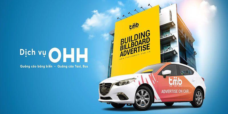 Quảng cáo OOH với sự đa dạng về hình thức quảng cáo