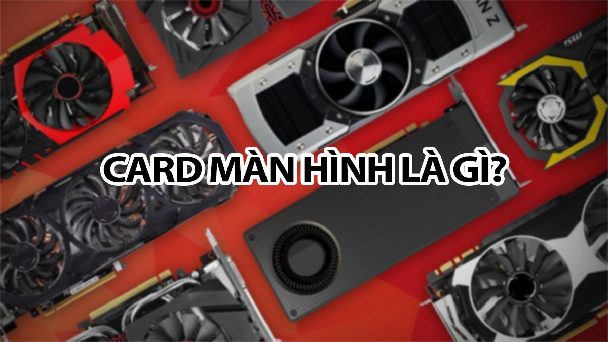 card man hinh