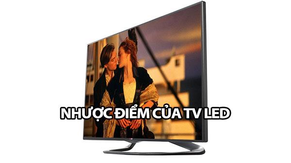 nhuoc diem cua tv led