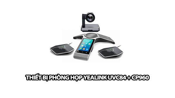 thiet bi phong hop yealink uvc84 cp960